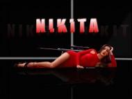 nikita, maggie q, maggie, hot babes, sexy legs, spies, panties, bikinis, high heels / Nikita