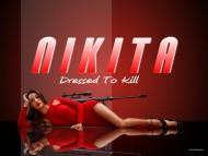 nikita, maggie q, spies, girls, babes, high heels, bikinis, wallpapers / Nikita