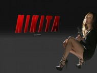 nikita, maggie q, hot babes, spies, bikinis, high heels, girls / Nikita
