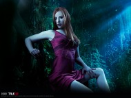 red sexy girl / True Blood