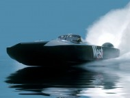 Racing Powerboat / Ships and Boats