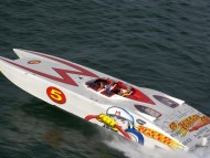 Speed Racer Powerboat / Ships and Boats