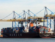 Hanjin-Goth Container Transporter / Freighter