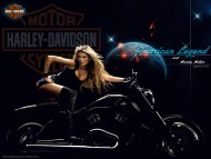 Download Motor Harley-Davidson / Girls & Motorcycles