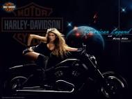Motor Harley-Davidson / Girls & Motorcycles