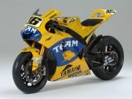 yellow Yamaha / Motorcycle