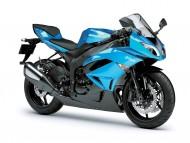 Kawasaki Ninja ZX 6R blue / Motorcycle