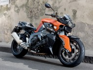 BMW K1300R orange / Motorcycle