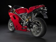 red Ducati 1198s rear / Motorcycle