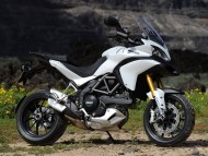 white Ducati / Motorcycle