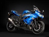 Kawasaki Ninja blue / Motorcycle