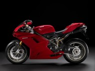 red Ducati 1198s side / Motorcycle