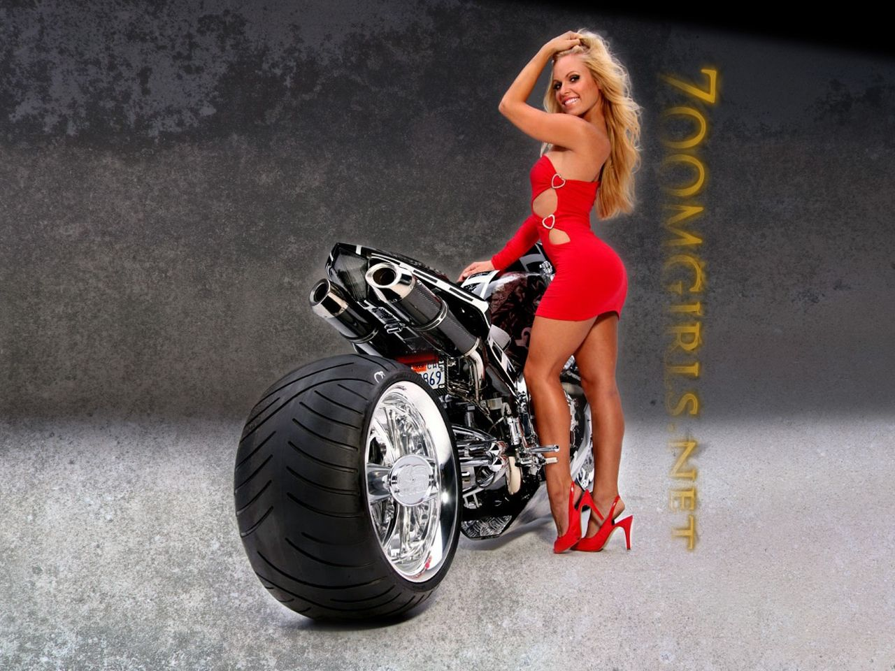 Free Download High Quality Girls &amp Motorcycles Wallpaper Num 136