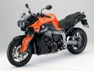 BMW K1300R orange / Motorcycle