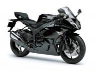 Kawasaki Ninja ZX 6R black / Motorcycle