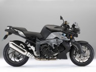 BMW K1300R black side / Motorcycle