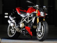 red Ducati / Motorcycle