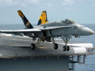 Take of from carrier / Military Airplanes