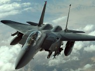 F-15 Strike Eagle Up Air / Military Airplanes