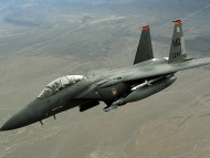 F-15E Strike Eagle / Military Airplanes