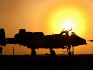 Sunset / Military Airplanes