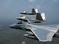 three FF / Military Airplanes