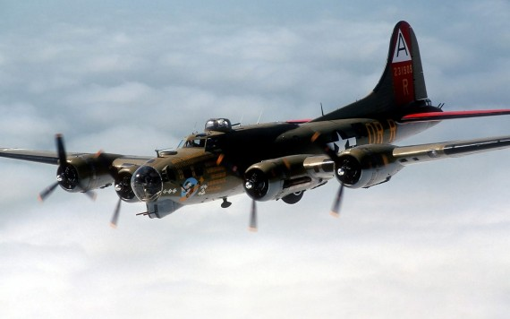 Free Send to Mobile Phone B 17 flying fortress Military Airplanes wallpaper num.219