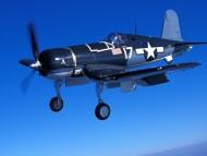 goodyear fg1d corsair / Military Airplanes