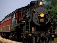 ohio central railroad, sugarcreek, ohio / Trains