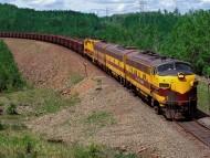 erie mining company, minnesota / Trains