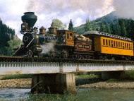 Durango-silverton line, colorado / Trains