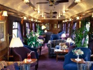 observation car, the royal scotsman, great scottish and western railway company / Trains