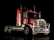 Download red Kenworth / Trucks