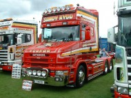 Download red Scania / Trucks