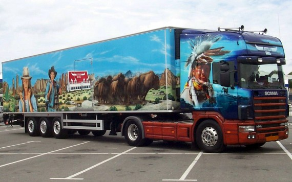 Free Send to Mobile Phone Trucks Vehicles wallpaper num.8