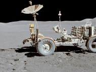 Apollo 15 Lunar Rover inal resting place / Unique